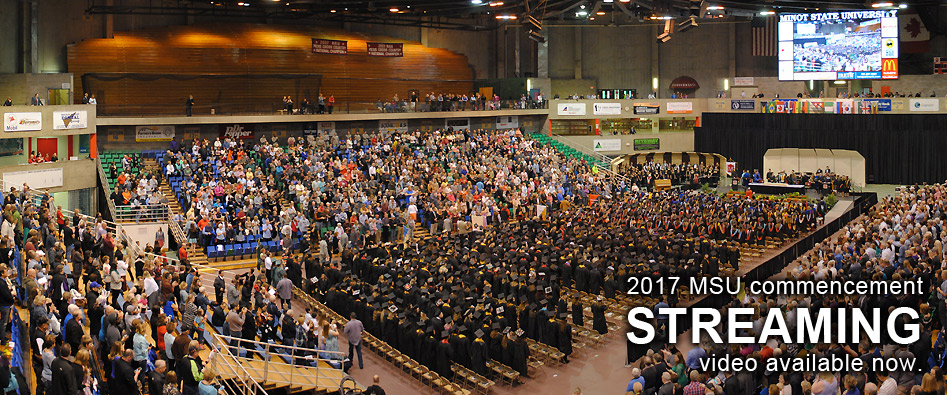 2017 MSU commencement LIVESTREAM begins at 9:30 a.m. CDT.