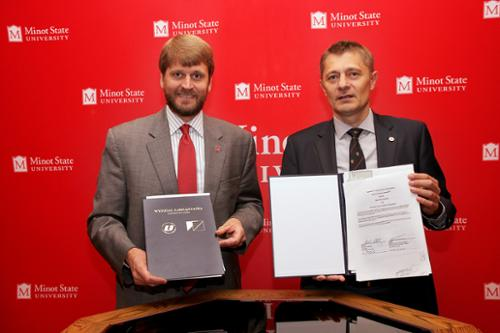 Minot State and Polish university partner