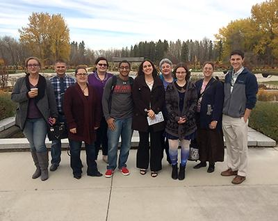 Eleven MSU students attend Peace Garden Conference