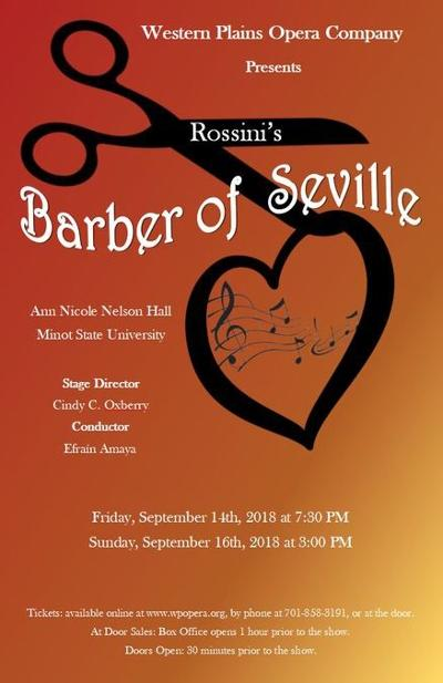 MSU - Western Plains Opera presents 'The Barber of Seville'