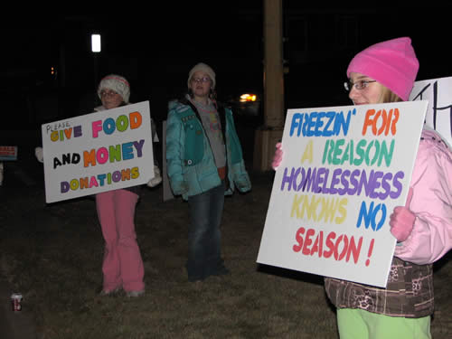 Freezin' Volunteers